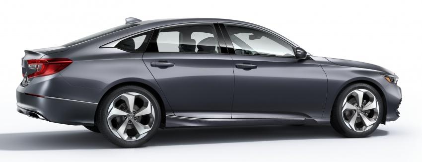 2018 Honda Accord unveiled – 192 hp 1.5 and 252 hp 2.0 turbo, 10-speed auto, standard Honda Sensing Image #683526