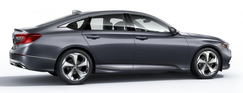 Honda Accord 2018 didedahkan – 1.5 VTEC Turbo dan 2.0 VTEC Turbo bersama transmisi auto 10-kelajuan Image #683780