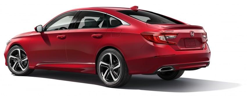 2018 Honda Accord unveiled – 192 hp 1.5 and 252 hp 2.0 turbo, 10-speed auto, standard Honda Sensing Image #683528