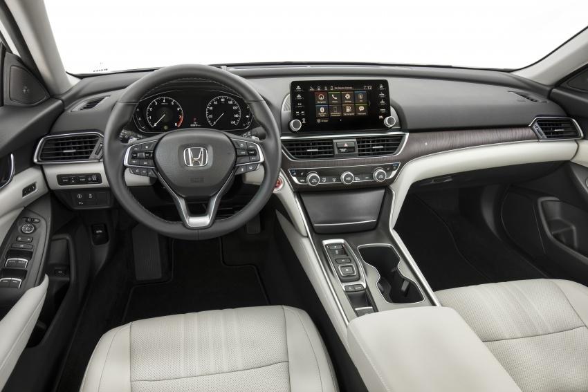 Honda Accord 2018 didedahkan – 1.5 VTEC Turbo dan 2.0 VTEC Turbo bersama transmisi auto 10-kelajuan Image #683784