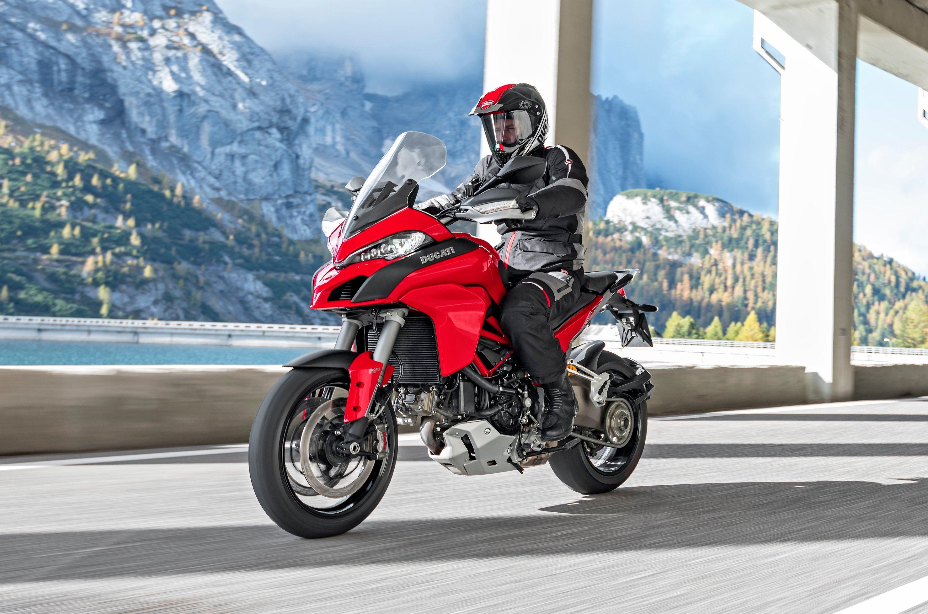 2018 Ducati Multistrada 1260 Gets 1 262 Cc V Twin