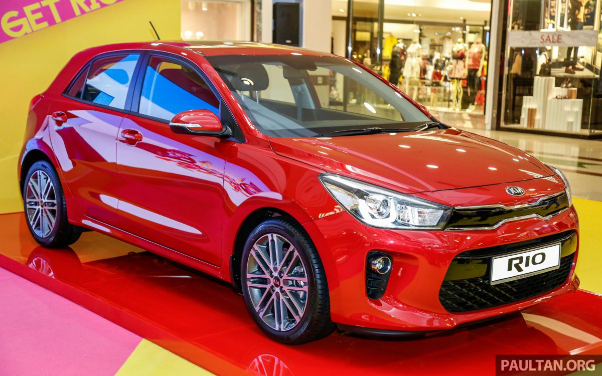 2017 Kia Rio 14 Mpi Launched In Malaysia Rm80k Driving Lights
