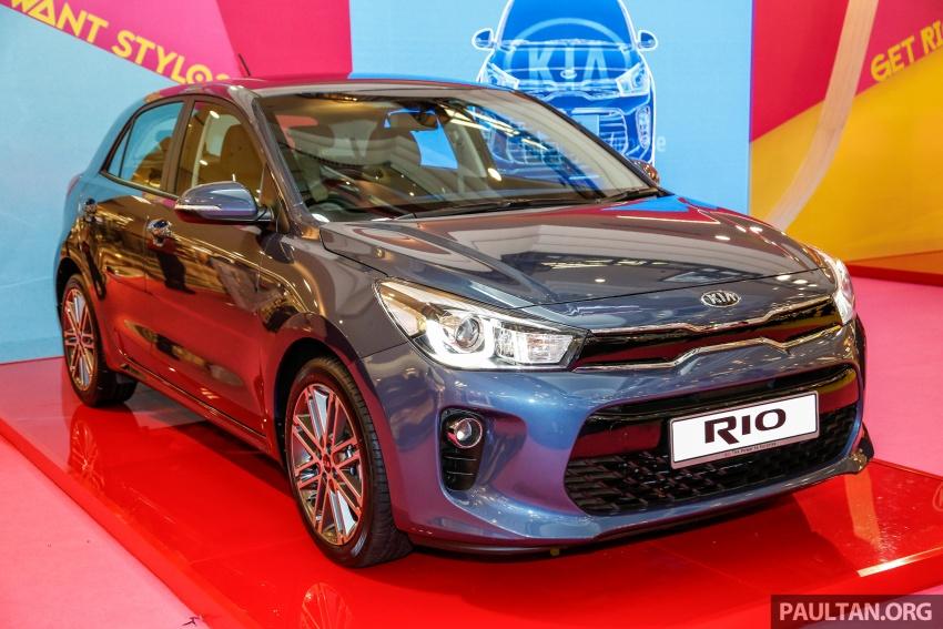 2017 Kia Rio 1.4 MPI launched in Malaysia – RM80k Image #685978