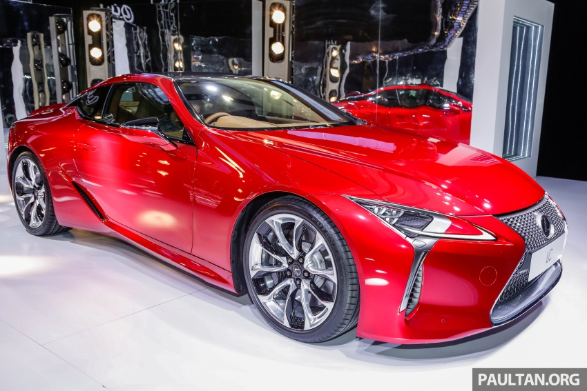 Lexus LC 500 officially launched in Malaysia – 5.0 litre V8, 10-speed auto, 0-100 km/h in 4.4 seconds, RM940k Image #688272