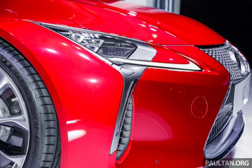Lexus LC 500 officially launched in Malaysia – 5.0 litre V8, 10-speed auto, 0-100 km/h in 4.4 seconds, RM940k Image #688281
