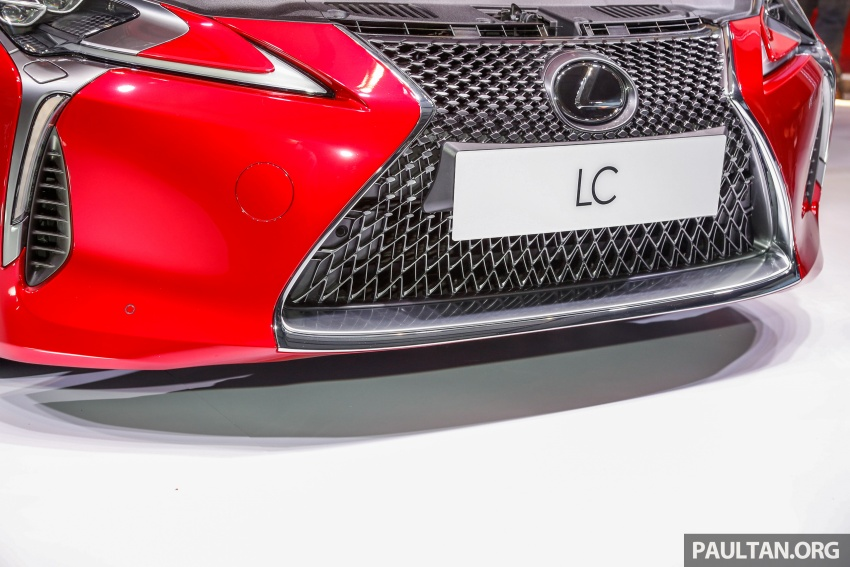 Lexus LC 500 officially launched in Malaysia – 5.0 litre V8, 10-speed auto, 0-100 km/h in 4.4 seconds, RM940k Image #688283