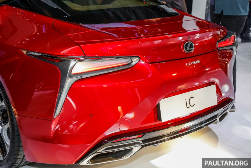 Lexus LC 500 officially launched in Malaysia – 5.0 litre V8, 10-speed auto, 0-100 km/h in 4.4 seconds, RM940k Image #688289