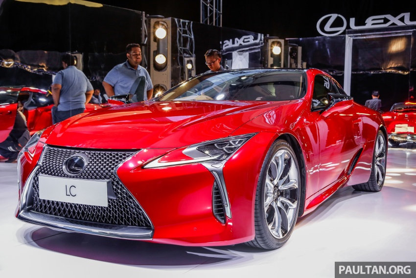 Lexus LC 500 officially launched in Malaysia – 5.0 litre V8, 10-speed auto, 0-100 km/h in 4.4 seconds, RM940k Image #688273