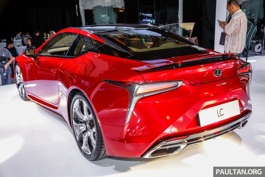 Lexus LC 500 officially launched in Malaysia – 5.0 litre V8, 10-speed auto, 0-100 km/h in 4.4 seconds, RM940k Image #688275