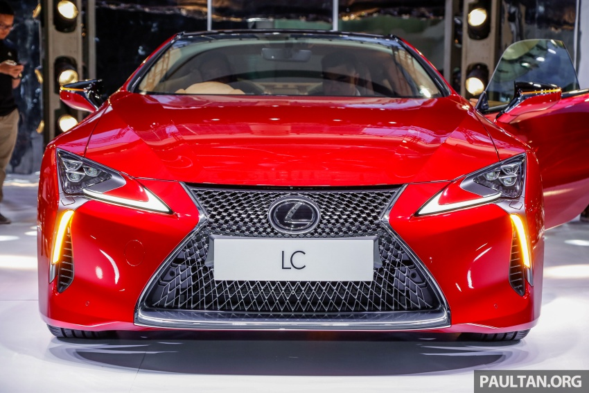 Lexus LC 500 officially launched in Malaysia – 5.0 litre V8, 10-speed auto, 0-100 km/h in 4.4 seconds, RM940k Image #688277
