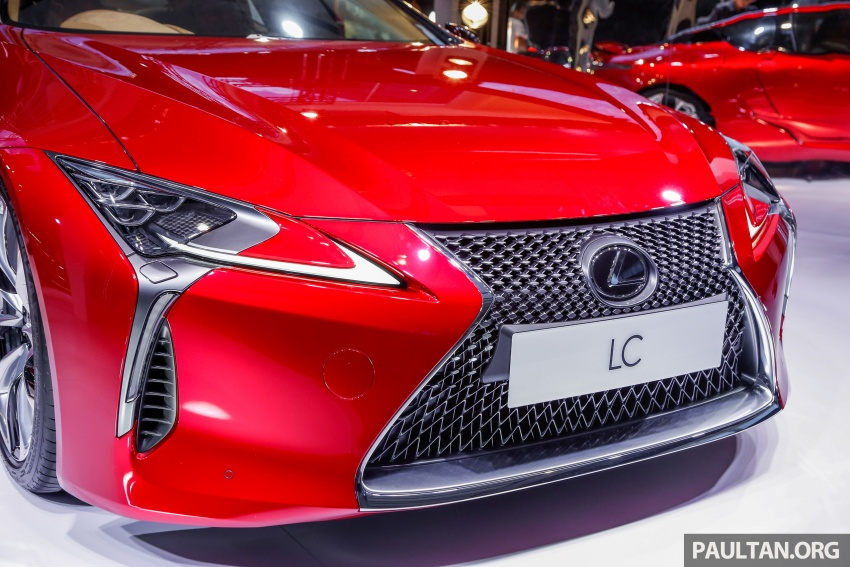 Lexus LC 500 officially launched in Malaysia – 5.0 litre V8, 10-speed auto, 0-100 km/h in 4.4 seconds, RM940k Image #688279