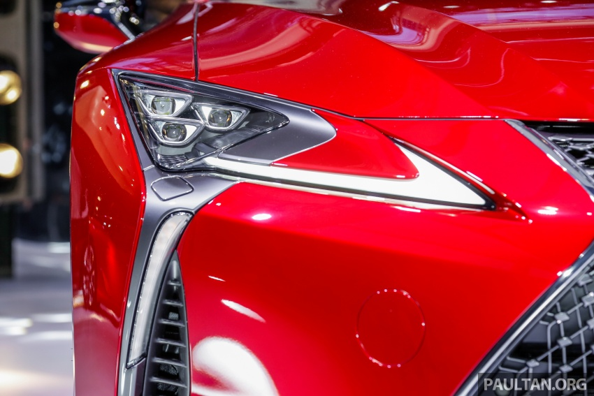 Lexus LC 500 officially launched in Malaysia – 5.0 litre V8, 10-speed auto, 0-100 km/h in 4.4 seconds, RM940k Image #688280