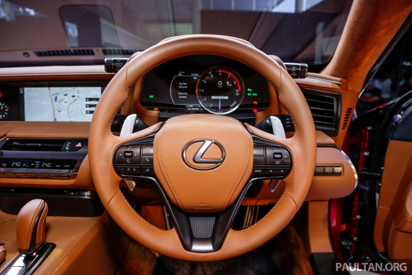 Lexus LC 500 officially launched in Malaysia – 5.0 litre V8, 10-speed auto, 0-100 km/h in 4.4 seconds, RM940k Image #688302