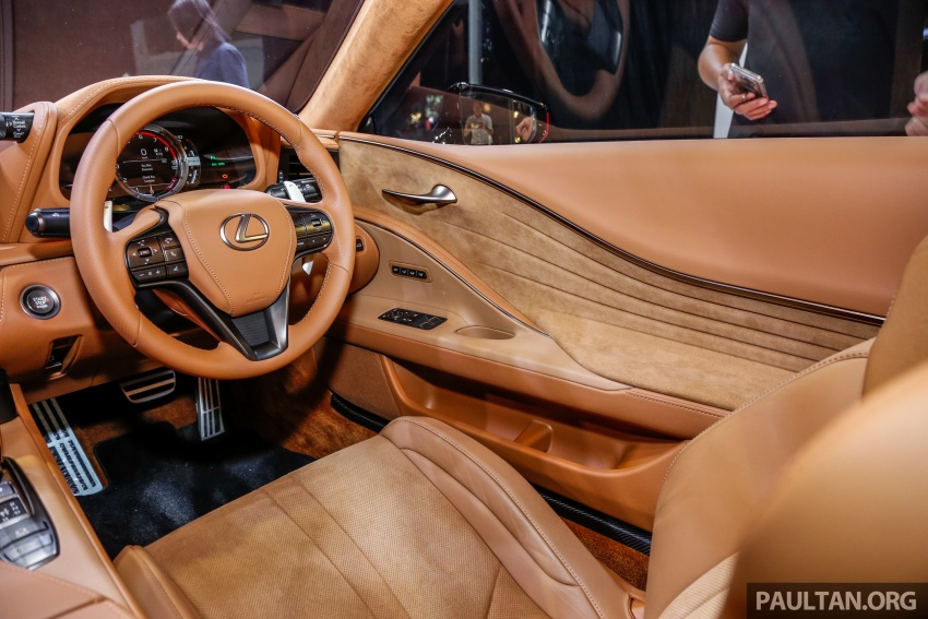 Lexus LC 500 officially launched in Malaysia – 5.0 litre V8, 10-speed auto, 0-100 km/h in 4.4 seconds, RM940k Image #688325