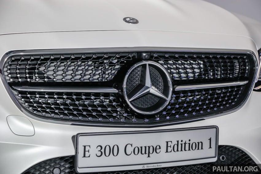 Mercedes-Benz E-Class Coupe kini dilancarkan di Malaysia – tiga varian, harga dari RM436k Image #689440