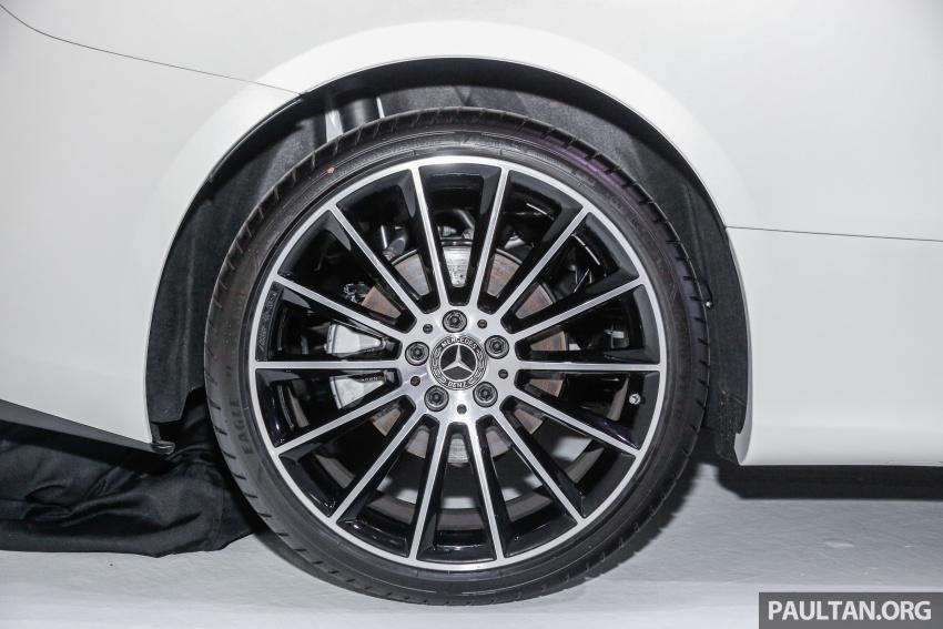 Mercedes-Benz E-Class Coupe kini dilancarkan di Malaysia – tiga varian, harga dari RM436k Image #689443
