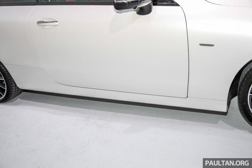 Mercedes-Benz E-Class Coupe kini dilancarkan di Malaysia – tiga varian, harga dari RM436k Image #689446
