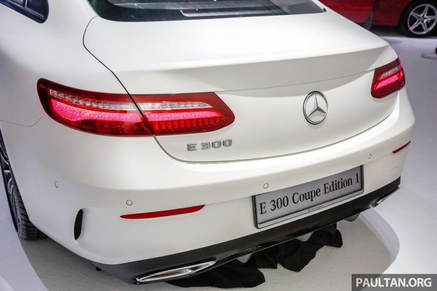 Mercedes-Benz E-Class Coupe kini dilancarkan di Malaysia – tiga varian, harga dari RM436k Image #689451