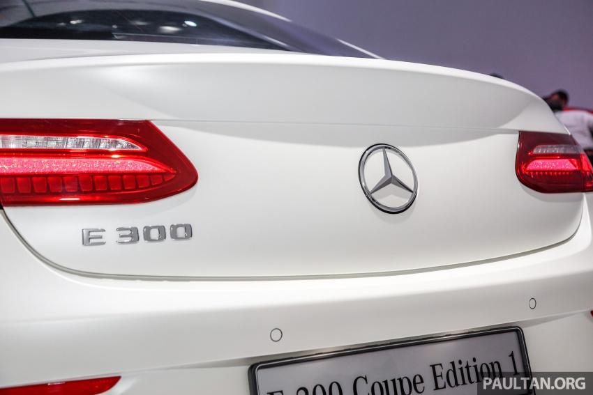 Mercedes-Benz E-Class Coupe kini dilancarkan di Malaysia – tiga varian, harga dari RM436k Image #689454