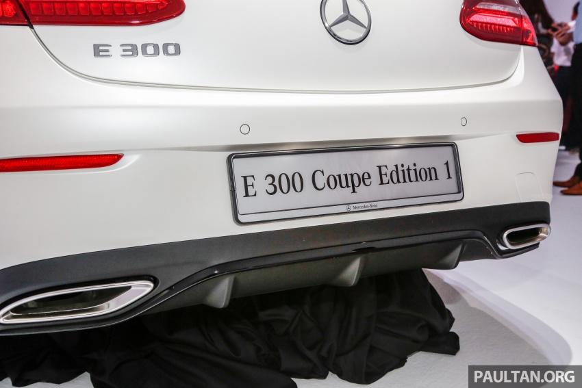Mercedes-Benz E-Class Coupe kini dilancarkan di Malaysia – tiga varian, harga dari RM436k Image #689455