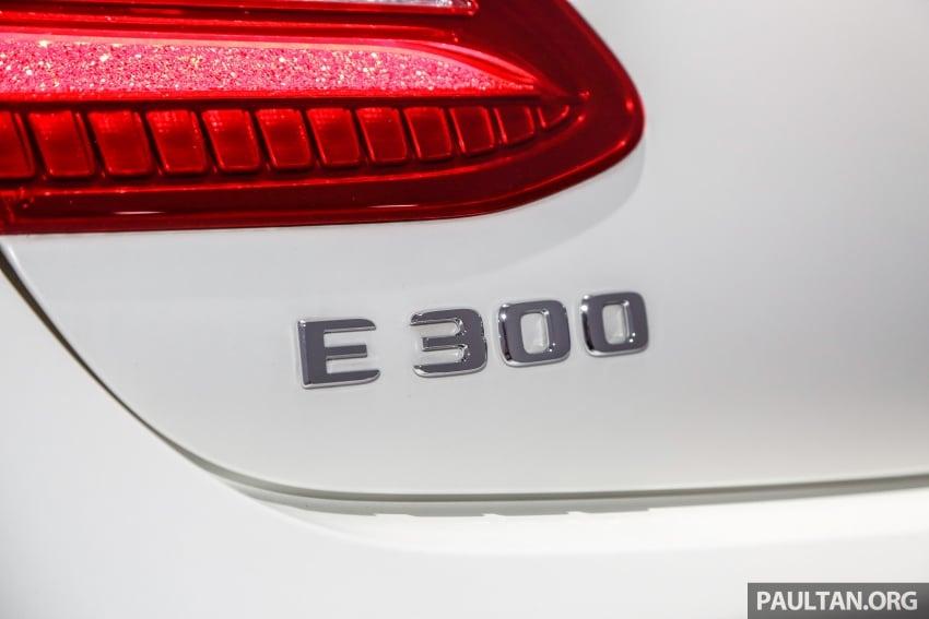 Mercedes-Benz E-Class Coupe kini dilancarkan di Malaysia – tiga varian, harga dari RM436k Image #689456
