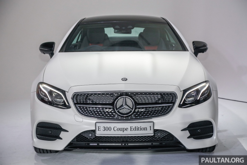 Mercedes-Benz E-Class Coupe kini dilancarkan di Malaysia – tiga varian, harga dari RM436k Image #689435