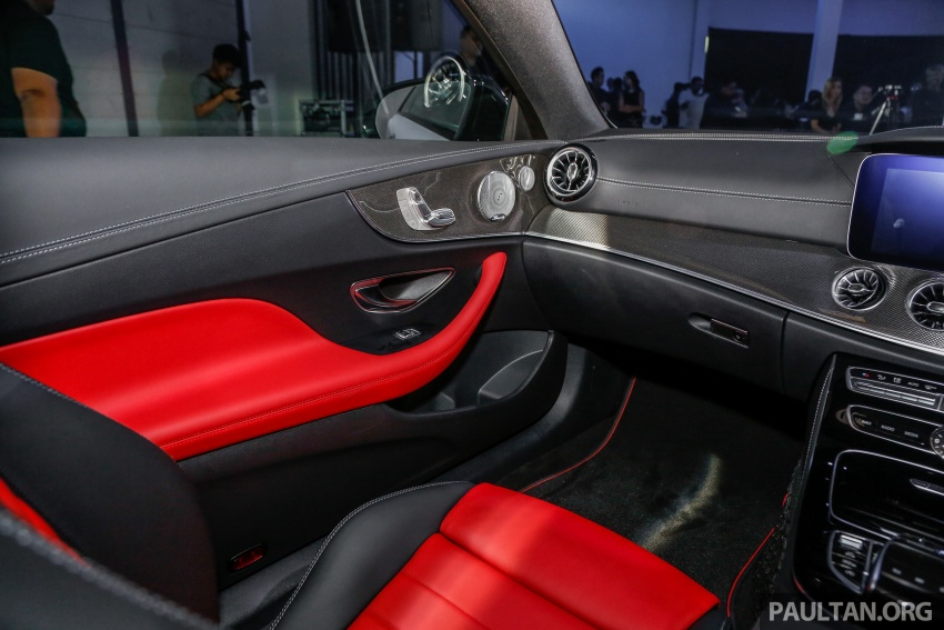 Mercedes-Benz E-Class Coupe kini dilancarkan di Malaysia – tiga varian, harga dari RM436k Image #689473