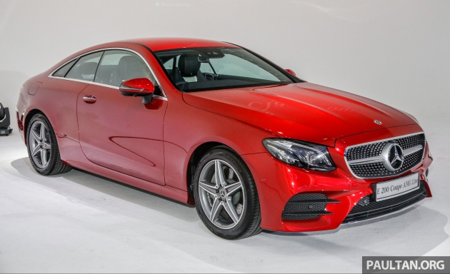 C238 Mercedes Benz E Class Coupe Launched In Malaysia E200 And