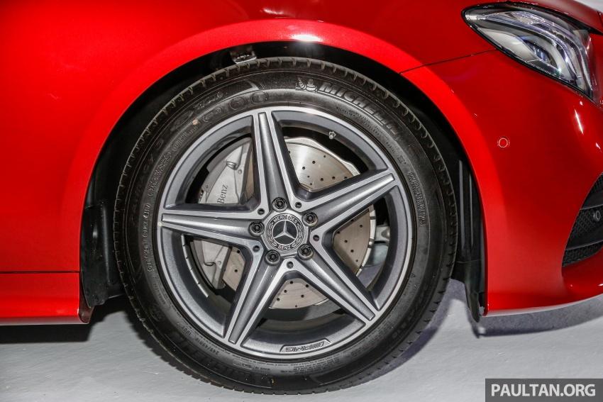 Mercedes-Benz E-Class Coupe kini dilancarkan di Malaysia – tiga varian, harga dari RM436k Image #689223