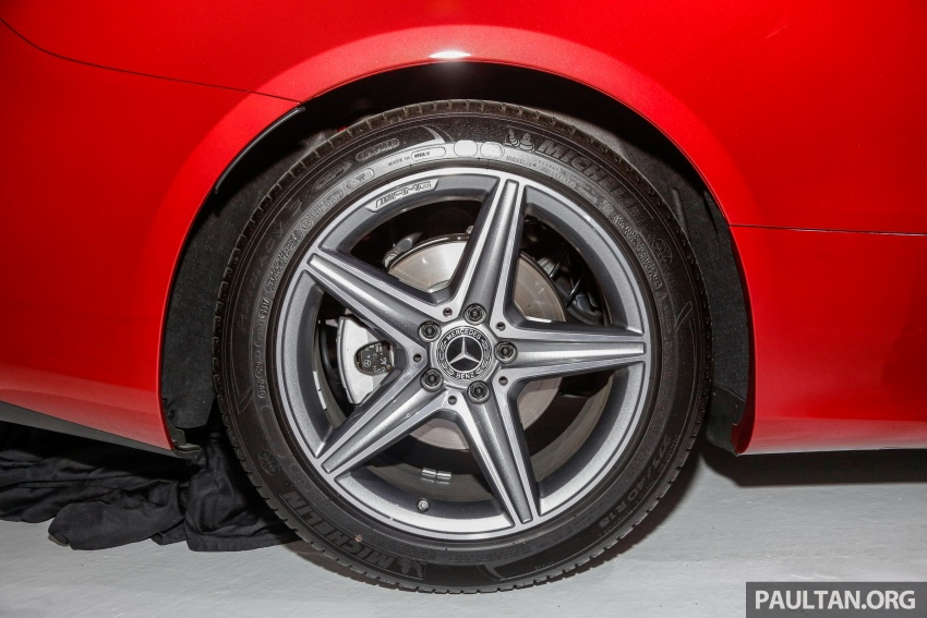 Mercedes-Benz E-Class Coupe kini dilancarkan di Malaysia – tiga varian, harga dari RM436k Image #689224