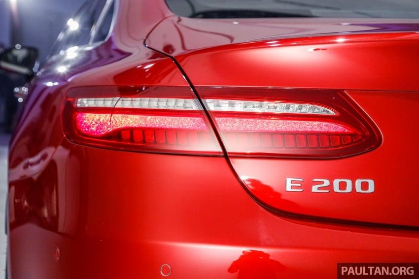 Mercedes-Benz E-Class Coupe kini dilancarkan di Malaysia – tiga varian, harga dari RM436k Image #689230