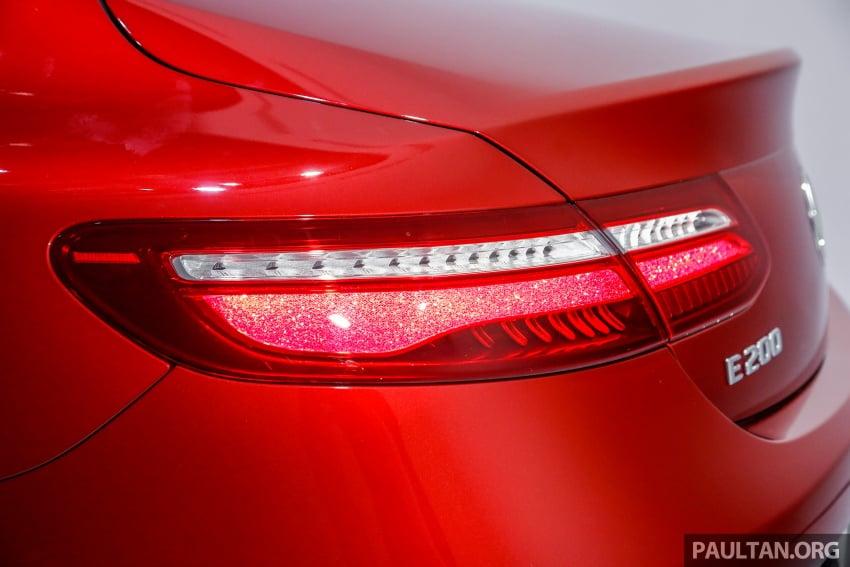 Mercedes-Benz E-Class Coupe kini dilancarkan di Malaysia – tiga varian, harga dari RM436k Image #689369
