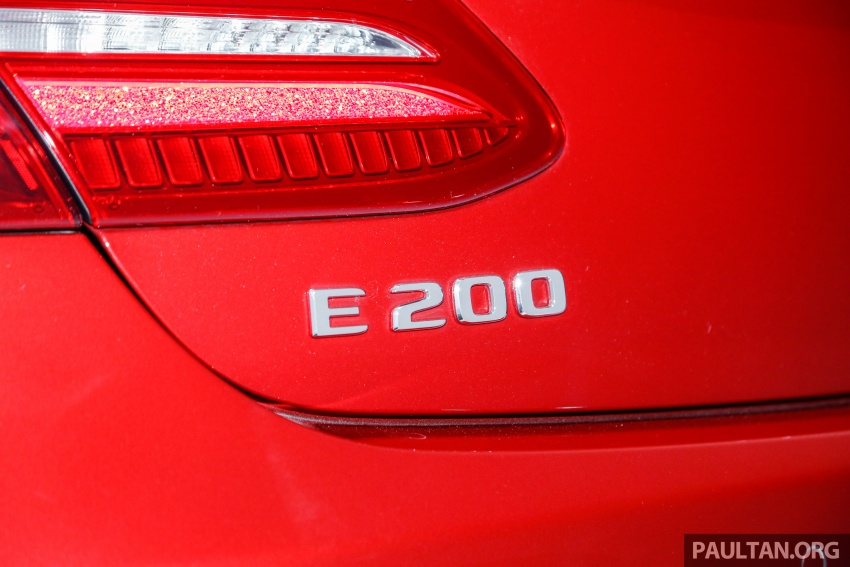 Mercedes-Benz E-Class Coupe kini dilancarkan di Malaysia – tiga varian, harga dari RM436k Image #689373