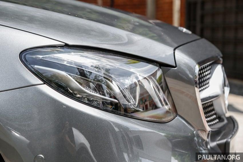 Mercedes-Benz E-Class Coupe kini dilancarkan di Malaysia – tiga varian, harga dari RM436k Image #689245