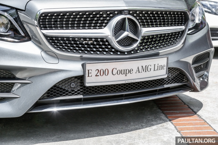 Mercedes-Benz E-Class Coupe kini dilancarkan di Malaysia – tiga varian, harga dari RM436k Image #689386