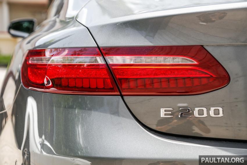 Mercedes-Benz E-Class Coupe kini dilancarkan di Malaysia – tiga varian, harga dari RM436k Image #689391