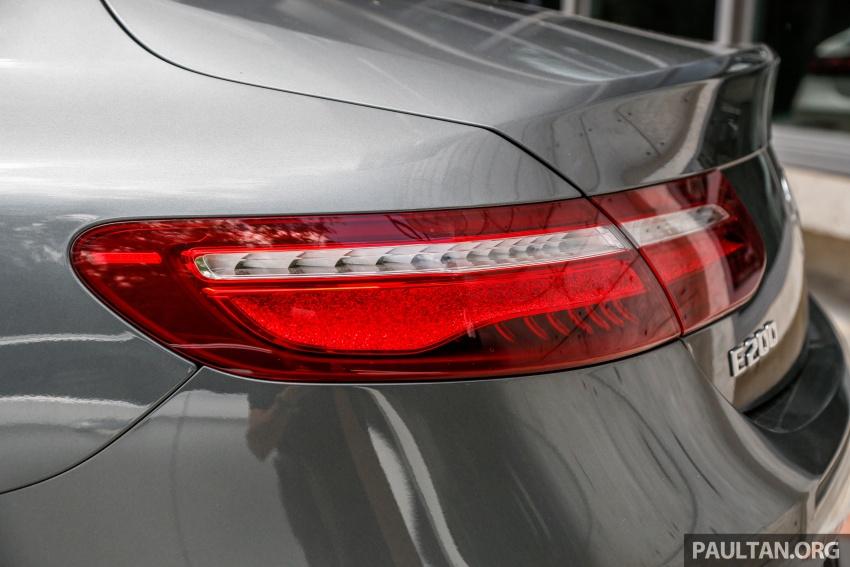Mercedes-Benz E-Class Coupe kini dilancarkan di Malaysia – tiga varian, harga dari RM436k Image #689260