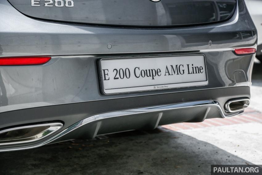 Mercedes-Benz E-Class Coupe kini dilancarkan di Malaysia – tiga varian, harga dari RM436k Image #689395