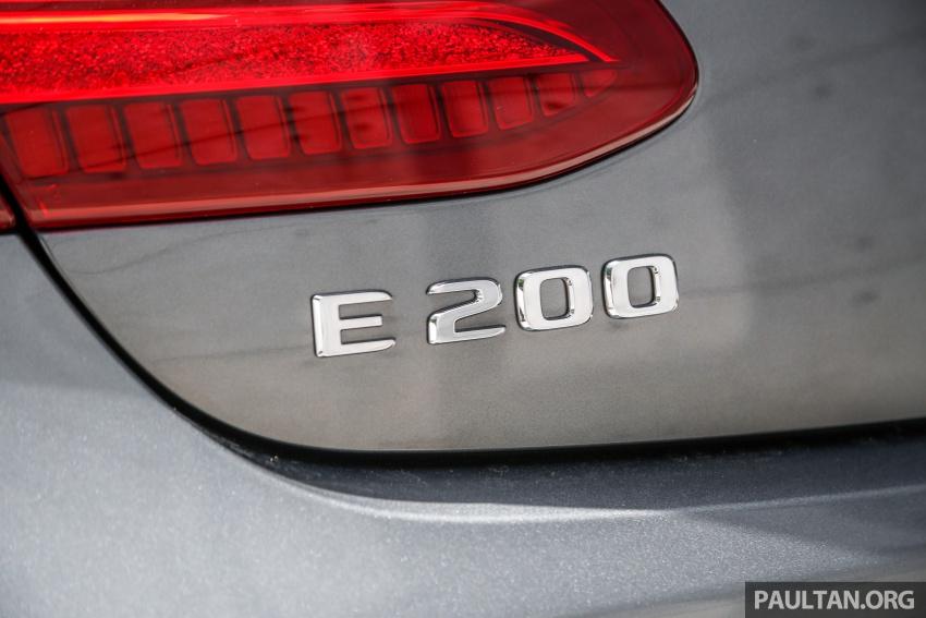 Mercedes-Benz E-Class Coupe kini dilancarkan di Malaysia – tiga varian, harga dari RM436k Image #689396