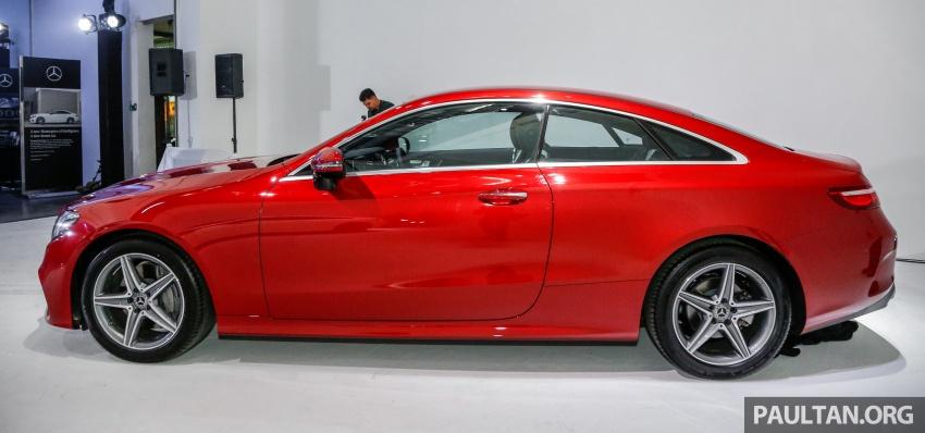 Mercedes-Benz E-Class Coupe kini dilancarkan di Malaysia – tiga varian, harga dari RM436k Image #689353