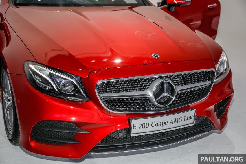 Mercedes-Benz E-Class Coupe kini dilancarkan di Malaysia – tiga varian, harga dari RM436k Image #689356
