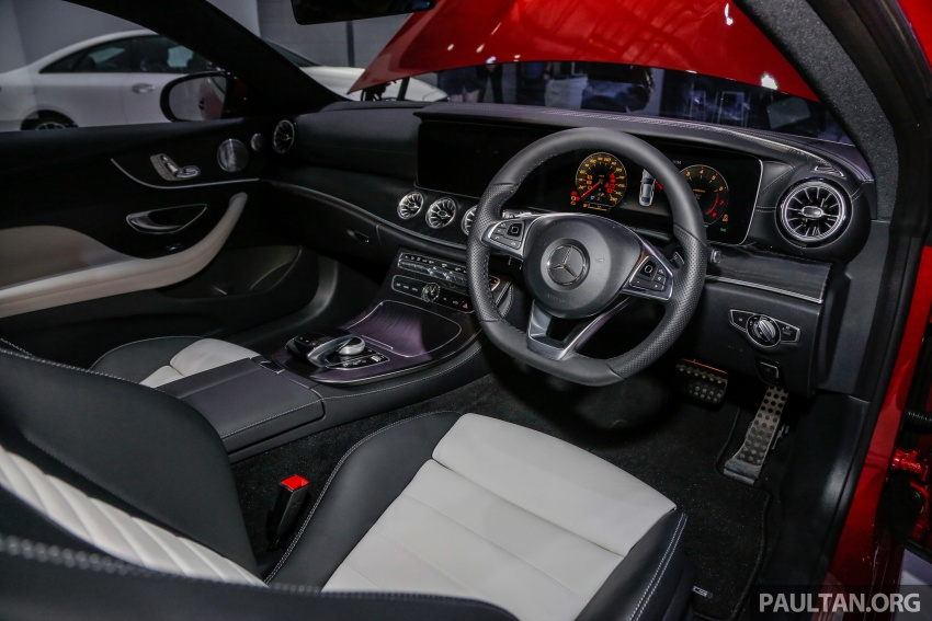 Mercedes-Benz E-Class Coupe kini dilancarkan di Malaysia – tiga varian, harga dari RM436k Image #689401