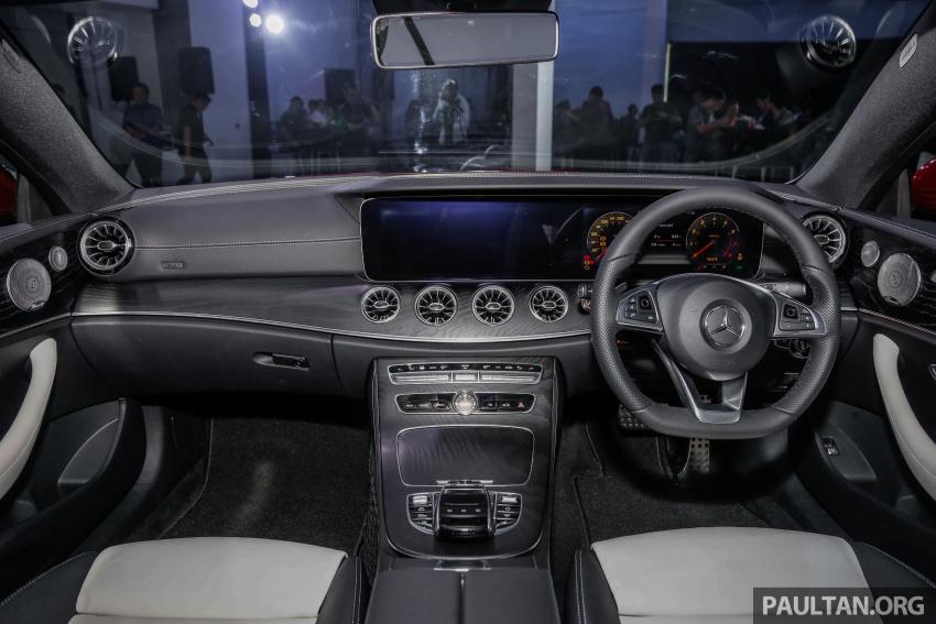 Mercedes-Benz E-Class Coupe kini dilancarkan di Malaysia – tiga varian, harga dari RM436k Image #689310