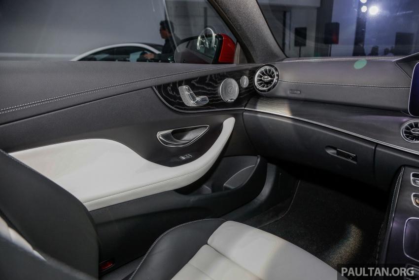 Mercedes-Benz E-Class Coupe kini dilancarkan di Malaysia – tiga varian, harga dari RM436k Image #689313