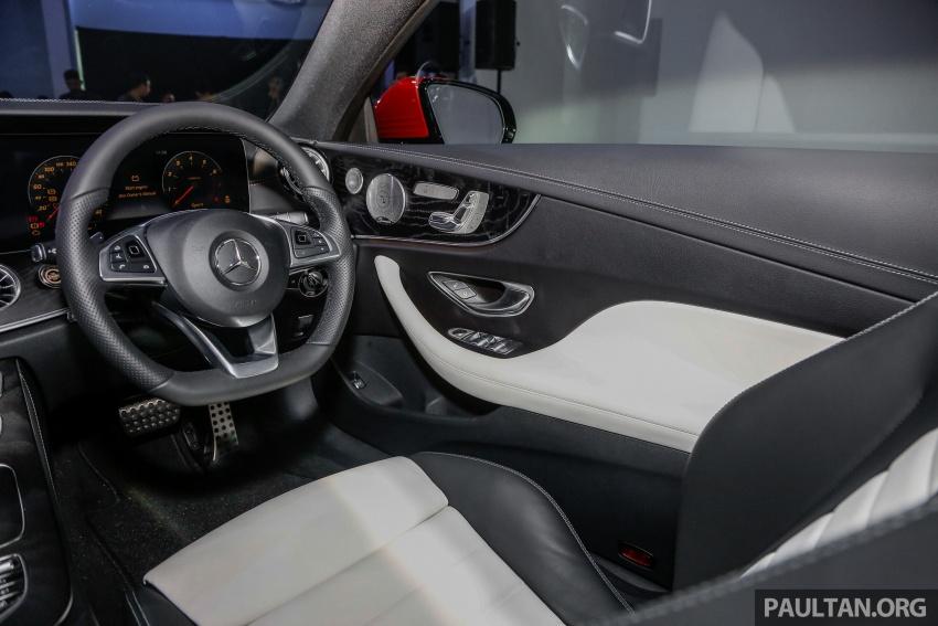 Mercedes-Benz E-Class Coupe kini dilancarkan di Malaysia – tiga varian, harga dari RM436k Image #689415