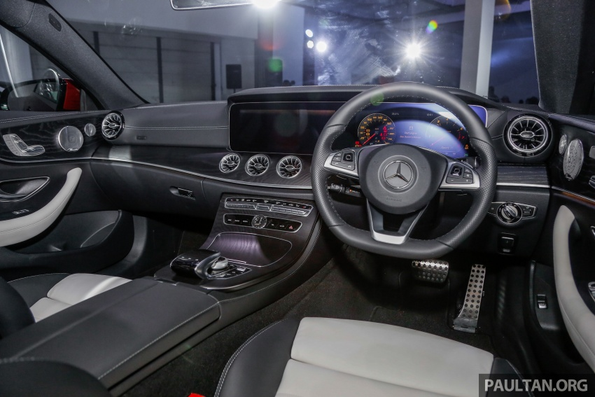 Mercedes-Benz E-Class Coupe kini dilancarkan di Malaysia – tiga varian, harga dari RM436k Image #689416