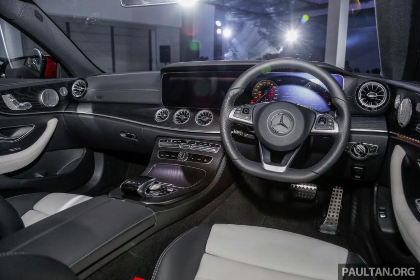 Mercedes-Benz E-Class Coupe kini dilancarkan di Malaysia – tiga varian, harga dari RM436k Image #689317
