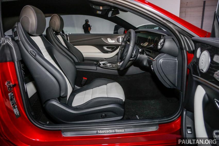 Mercedes-Benz E-Class Coupe kini dilancarkan di Malaysia – tiga varian, harga dari RM436k Image #689319