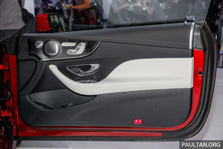 Mercedes-Benz E-Class Coupe kini dilancarkan di Malaysia – tiga varian, harga dari RM436k Image #689329
