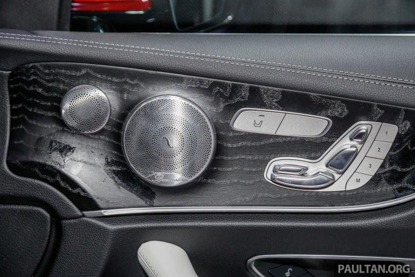 Mercedes-Benz E-Class Coupe kini dilancarkan di Malaysia – tiga varian, harga dari RM436k Image #689333